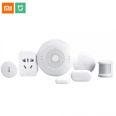 Original Xiaomi Mijia Smart Home Kit Gateway Door Window Sensor Human Body Sensor Wireless Switch Multifunctional Smart Sets