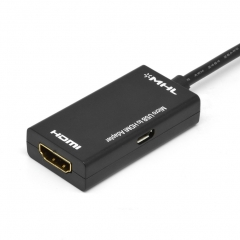 MHL Micro USB To HDMI Cable Lead Adapter