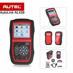 Autel Autolink AL439 OBD2 OBDII Scanner / Codeleser Die patentierte One-Click-I / M Readiness Key Multimeters AVO Meter