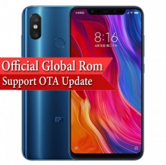 Xiaomi Mi 8 Android 8.1 Qualcomm SDM845 Snapdragon 845 6.21-inch FHD screen Smartphone 6GB+64GB
