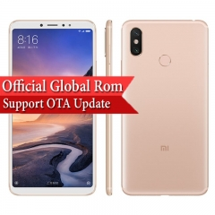 NEW Xiaomi Mi Max 3 Smartphone Snapdragon 636 6.9-inch 4GB + 64GB Support OTA Update Gold
