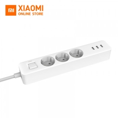 Xiaomi Mijia Power Socket Strip 3 Sockets 3 USB port Big Plug Extension Patch Board for Home Office Global