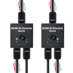 NK-Q3 HDMI Bi-Direction Switch 1X2 / 2X1 Supports 3D And HDCP Passthrough