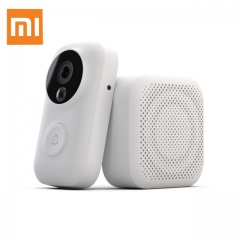 Xiaomi AI Face Identification 720P IR Night Vision Video Doorbell Set Motion Detection SMS Push Intercom Free Cloud Storage