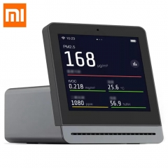 "Xiaomi Clear Grass Air Detector 3.1"" Retina Touch IPS Screen Mobile Touch Operation Indoor Outdoor Air Detector"