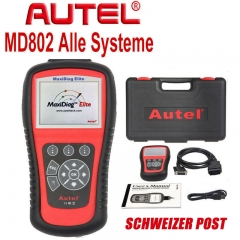 Autel Maxidiag Elite MD802 OBD2 EOBD Scanning Tool All Systems Oil Service Reset EPB