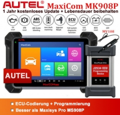 Autel MaxiSys PRO Elite MS908P MaxiCOM MK908P J2534 ECU Programming German