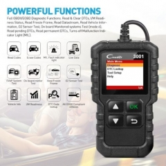 LAUNCH X431 Creader CR3001 OBD 2 CAR Code Reader Support Full OBDII/EOBD