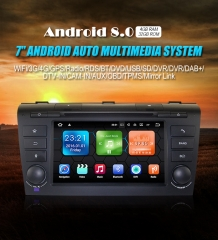 Android 8.0 Quad-core 4GB RAM 32GB flash Car DVD Player Radio for MAZDA3
