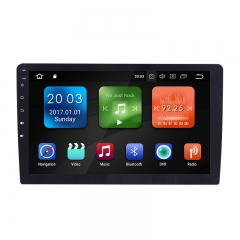 10.1 Inch Android 9.0 O Car Radio / Multimedia 4GB RAM 32GB ROM for Universal GPS Navigation Stereo Radio WIFI MP3 Bluetooth USB SWC