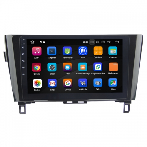 10.1 Inch Android 9.0 Car Radio / Multimedia 4GB RAM 64GB ROM for Nissan X-Trail & Qashqai (2014-)