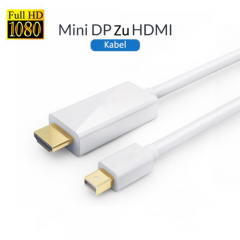 3 Meter Mini DisplayPort DP zu HDMI Adapter Kabel für Apple Macbook Pro Air iMac