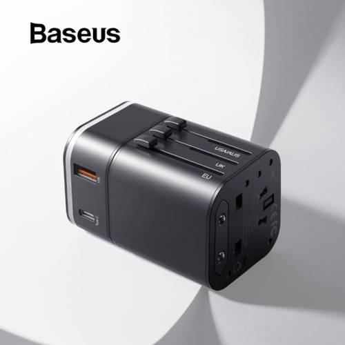 Baseus Quick Charge 3.0 International Travel Wall USB Charger Adapter