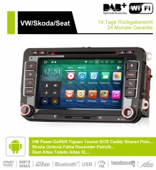 7 Inch 2 Din Android 8.0 Car Radio / Multimedia 4GB RAM 32GB ROM  Für VW GOLF JETTA POLO TOURAN PASSAT B6 mit GPS stereo radio usb WIFI