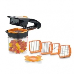 5 in 1 Dicer Fruit Vegetable Cutter Nicer Dicer Quick Stainless Steel Chopper