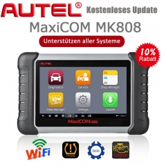NEW Autel MaxiCOM MK808 Diagnostic Tool 7-inch LCD Touch Screen Swift Diagnosis Functions of EPB/IMMO/DPF/SAS/TMPS and More
