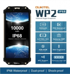 OUKITEL WP2 Smartphone MTK6750T Octa Core 6.0 inch 4GB + 64GB Color Gold