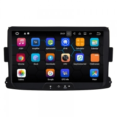 8 Inch Android 9.0 Car Radio / Multimedia 2GB RAM 16GB ROM For Renaults Dacia Duster, Logan, Sandero, Dokker, Lodgy