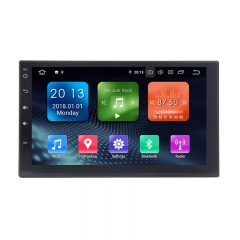 7 Inch Android 9.0 Car Radio / Multimedia 2GB RAM 16GB ROM For Universal