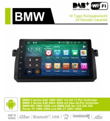 9 Inch Android 9.0 Car Radio / Multimedia 2GB RAM 16GB ROM For BWM 3Series M3 75 E46 3er MG ZT