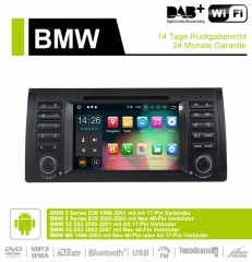 7 Inch Android 9.0 Car Radio / Multimedia 2GB RAM 16GB ROM For BMW X5 E53 E39