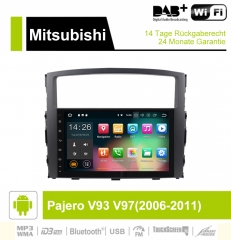 9 inch Android 9.0 Car Radio / Multimedia 2GB RAM 16GB ROM For Mitsubishi Pajero