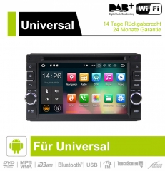 6.2 inch Android 9.0 Car Radio / Multimedia 2GB RAM 16GB ROM For Universal