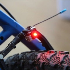 Universal Bike Brake Light Mount Bicycle Tail Rear LED Safety Warning Lamps  LED light
