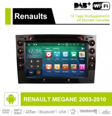 7 inch Android 9.0 Car Radio / Multimedia 4GB RAM 32GB ROM for RENAULT MEGANE 2003-2010