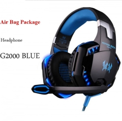 G2000 Gaming Headsets Large Headphone with Light Mic Stereo Earphone Deep Bass for PC Computer Gamer Laptop PS4 New x-BOX