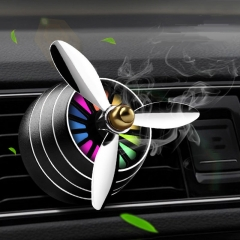 Air Freshener Car Smell LED Mini Air Condition Vent Outlet Perfume Car Accessories