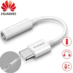 HUAWEI USB Type C To 3.5mm Earphone Jack Aux Audio Cable Adapter Earphone
