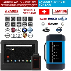 "Launch X431 V+ & X431 HD3 heavy duty 10.1"" Screen Tablet Bluetooth/wifi auto diagnostic scanner test for 12V/24V truck"