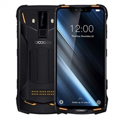DOOGEE S90 Smartphone Helio P60 MTK6771 6.18 inch 6GB + 128GB Orange Color