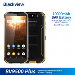 Blackview BV9500 Plus Helio P70 Octa Core Smartphone 10000mAh IP68 Waterproof 5.7 inch FHD 4GB + 64GB android 9.0 mobile phone