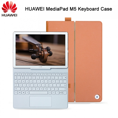 "Original Huawei Mediapad M5 Keyboard Case Stand Flip Leather Case for M5 10.8 ""M5 Pro 10.8 inch Tablet Case"
