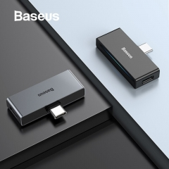 Baseus L57 USB Type C Adapter USB C to 3.5mm AUX Earphone Headphone Adapter with PD 18W Fast Charging for Type C Jack Phone