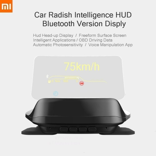 Xiaomi Mijia Carrobot OBD Driving Data Overspeed Warning System HUD - Bluetooth Version
