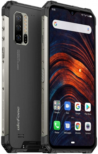 Ulefone Armor 7 (2019) outdoor cellphone Helio P90 8GB RAM 128GB ROM 6.3 inch waterproof smartphone IP69K, 5500mAh