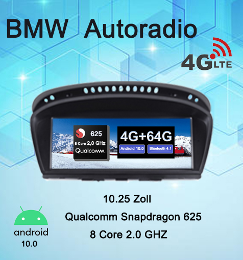 BMW 5 Series E60 E61 E63 3 Series Car Radio