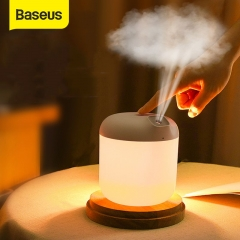 Baseus Air Humidifier Diffuser For Home Office 600 ML Ultrasonic Air  Humidificador Mist Maker Fogger with Night Lamp