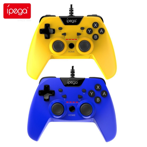 ipega PG-SW012 Wired Game Controller Joystick for N-Switch Phantom Elf Wired handle with magnetic ring 3 meters support for Android PS3/PC controller