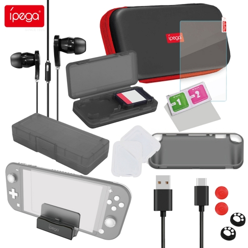 ipega PG-SL002 18-in-1 accessory kit Game accessories for N-Switch Lite gamepad protective case