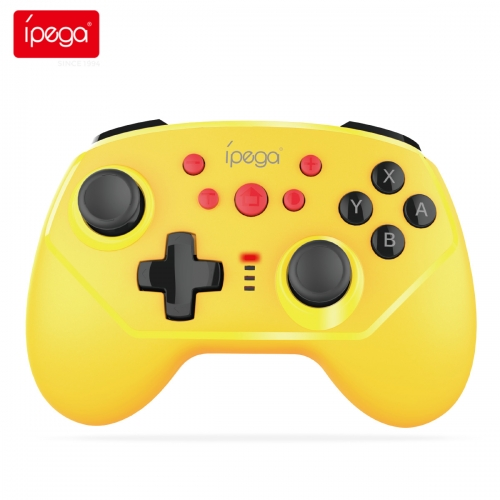 ipega PG-9162 Wireless Bluetooth Gamepad for Nintendo Switch Six-Axis Vibration Game Controller Ergonomic NS Switch Pro Joystick