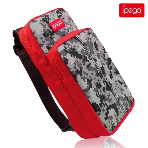 ipega PG-9183 For Nintendo Switch Travel Bag Multifunctional Storage Bag For Switch / Switch Lite Console Protective Backpack Bag