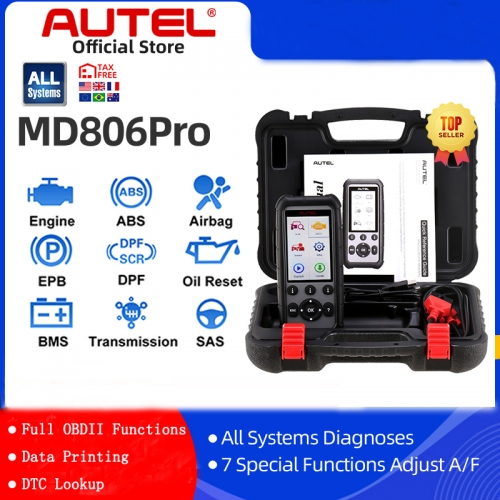 Autel MaxiDiag MD806 Pro OBD2 Scanner Car Automotive Diagnostic Tool Auto Code Reader OBDII OBD Scan Tool