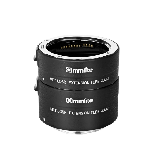 Commlite CM-MET-EOS R Automatic Macro Extension Tube Compatible with Canon EOS R Mount Cameras & Lenses
