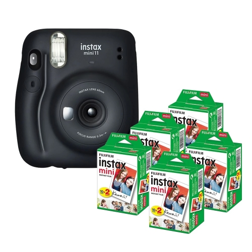 Fujifilm instax mini 11 Instant Camera Film Cam Auto Exposure Control Selfie Mode
