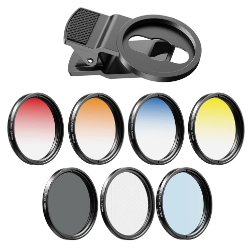 APEXEL APL-52UV-7G 7in1 Lens Filter Kit