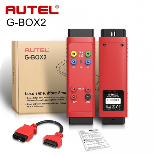 Autel G-BOX 2 G BOX 2 Accessory Tool for Mercedes Benz All Key Lost Used with Autel MaxiIM IM608 / IM508
